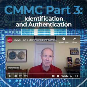 Sabre on Point CMMC – Part 3 Identification and Authentication